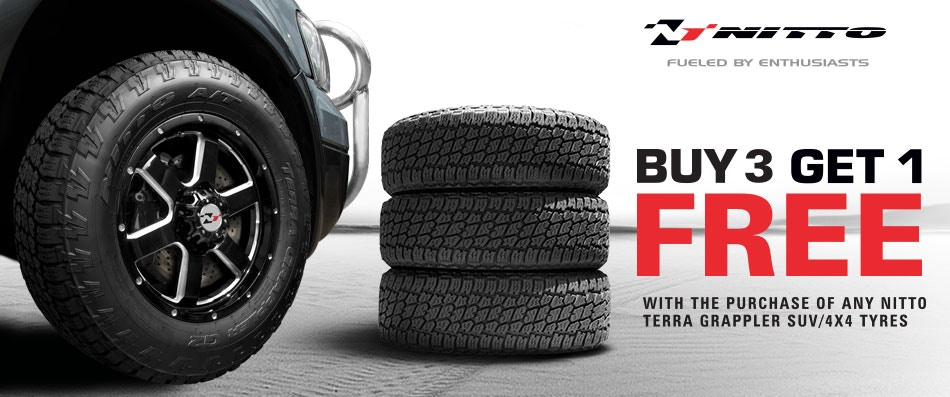 Nitto Buy 3 get 1 Free promotion