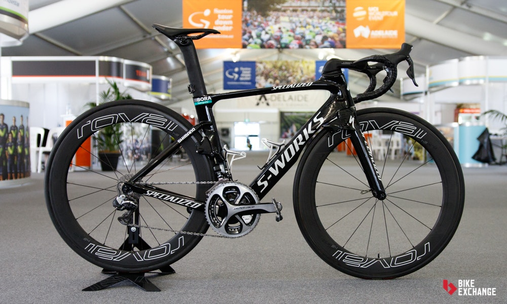 bikes of the 2017 worldtour Specialized Venge BORA
