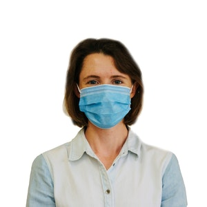 Low Barrier Civil Use Face Mask - 50 Day Supply - 50 Pack