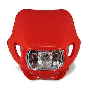Halogen Motocross Headlight - Red
