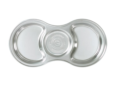 Grosmimi Stainless Baby Food Tray with Lid