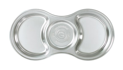 Grosmimi Stainless Steel Baby Food Tray 3 Compartment
