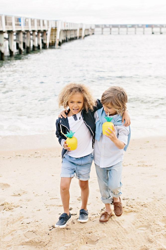LENZO Betts Kids Beach Party