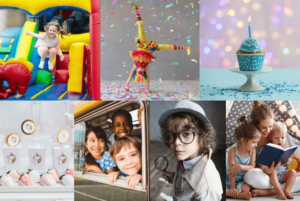 7 Dinge, die du für dein Kinder-Event brauchst!
