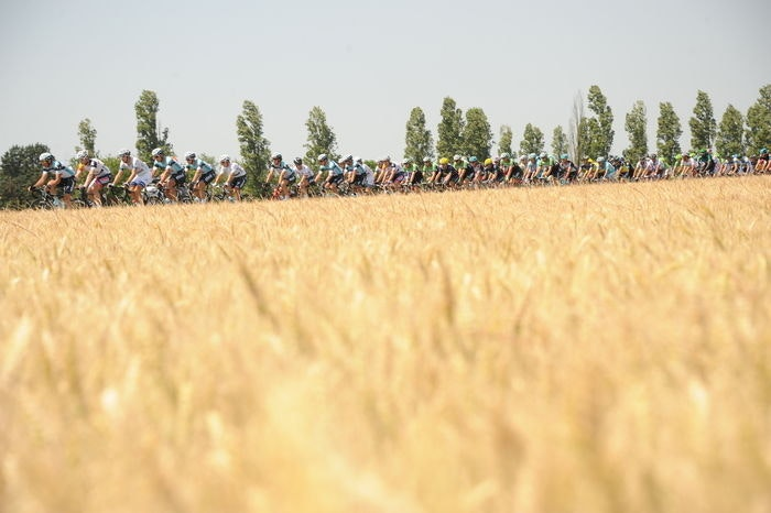 1 BST display Official Tour de France Photo