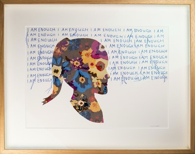Tracy Stirzaker My Inner Child Audrey - Original Artwork