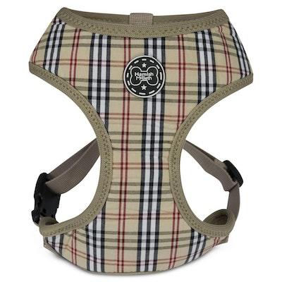 Hamish McBeth Brown Tartan Dog Harness