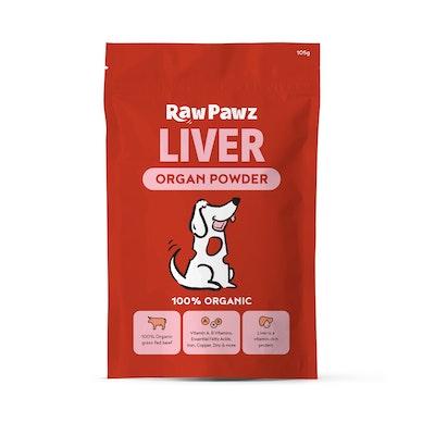 Raw Pawz Organic Grass Fed Beef Liver Powder
