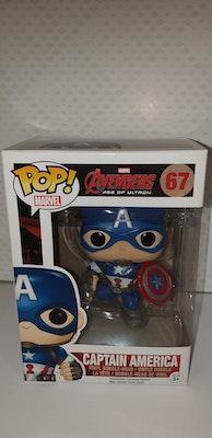 Captain America pop vinyl