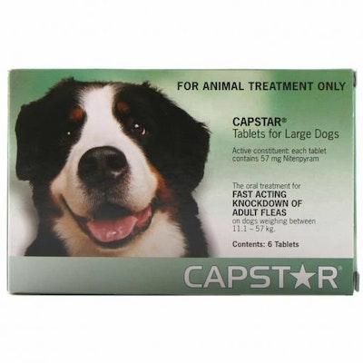 Capstar Flea Treatment 11-57kg Dog 6 Pack