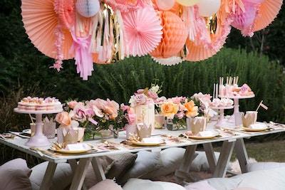 A PINK PRINCESS TEA PARTY