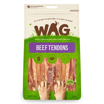 WAG Beef Tendons Dog Treats 750G
