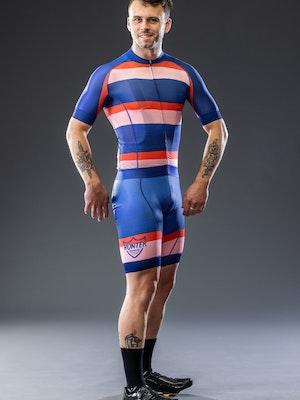 Hunter Bros Cycling Hand Painted Stripe Race Knicks