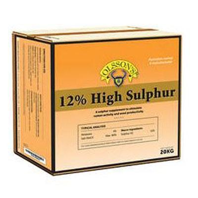 Olsson 12% High Sulphur Livestock Feed Supplement 20kg