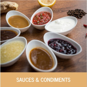 Sauces and Condiments Category