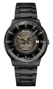 Mido Commander Gradient - Stainless Steel with Black PVD - Black PVD Strap