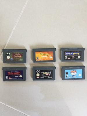 Mixed Gameboy Advance Games