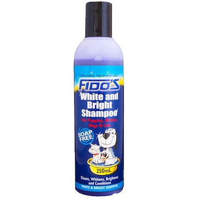 Fidos White & Bright Shampoo Soap Free for Dogs & Cats - 3 Sizes