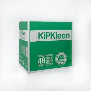 Kipkleen 3 ply toilet paper 48 Rolls 380 sheet virgin $56.60