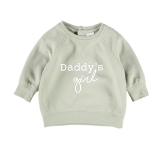 Daddy's Girl Jumper - Sage Green
