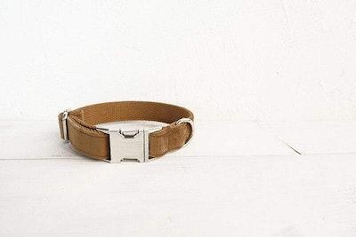 Barker & Bone Dog Collar | Camel