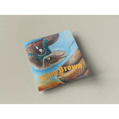 Sunbirds Design Picture Book Ballad - King Brown