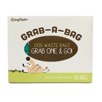 Zippy Paws Dispensing Pet Waste Bags (160 Bags) Green