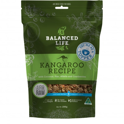 BALANCED LIFE Kangaroo Topper 200G