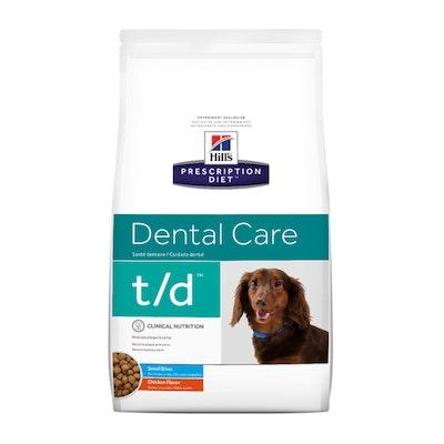 Hill's VET Hill's Prescription Diet T/D Dental Care Small Bites Dry Dog Food 2.25kg