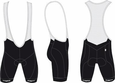 UltraTech Bib Shorts BBW-215Z