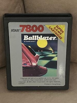Atari 7800 Ballblazer Cart