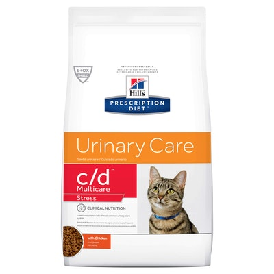 Hill's VET Hill's Prescription Diet C/D Multicare Stress Urinary Care Dry Cat Food