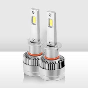 Pair 60W 18000LM H1 LED Car Headlight Kit Replace Bulb Lamp Globe High Beam