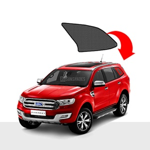 Quarter Window Shade Fits FORD Everest / Endeavour 2015-Present