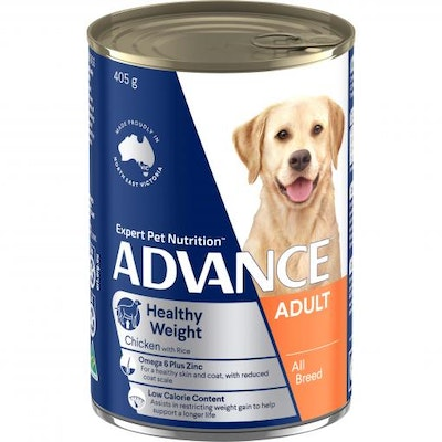 Advance Weight Control Adult Chicken & Rice Wet Dog Food