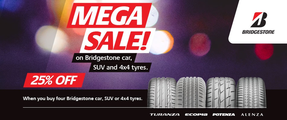 Bridgestone 25% OFF