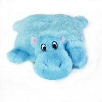 Zippy Paws ZippyPaws Squeakie Pad No Stuffing Plush Dog Toy - Available in Hippo