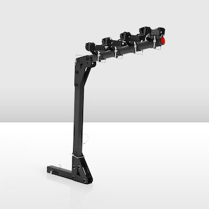 """4 Bicycle Bike Rack Rear Car Carrier Hitch Mount 2"""" Towbar Foldable"""