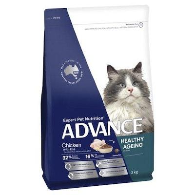 Advance Dry Cat Food Mature Chicken 3kg
