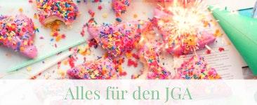 Alles für den JGA z.B. Lauter Partysüßigkeiten und Partyhüte