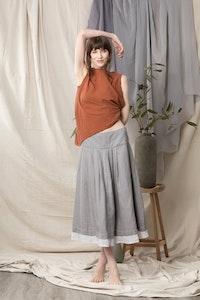 Quillan Morning Cloak Skirt