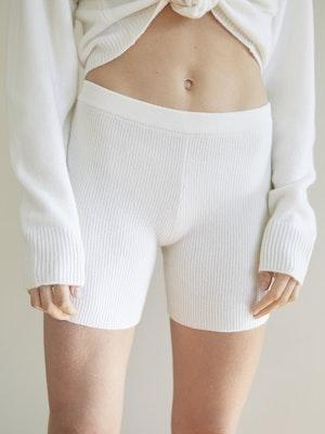 Knit Wool Boxer Short