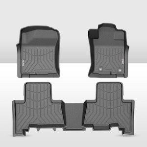 KIWI MASTER 3D TPE Floor Mats Liner fit Toyota Landcruiser Prado 150 MY2013-2020