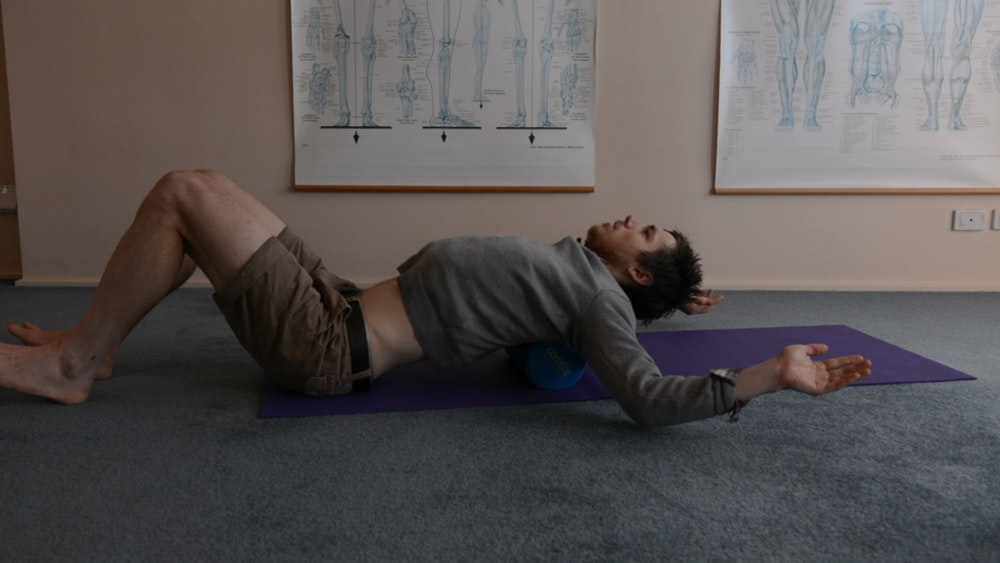 foam roller exercises for cyclists thoracic