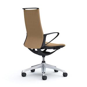 PRE ORDER - Plimode Chair - Gold Spec (Black/White Body)