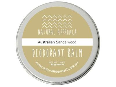 Natural Approach 50g - Australian Sandalwood - Natural Deodorant