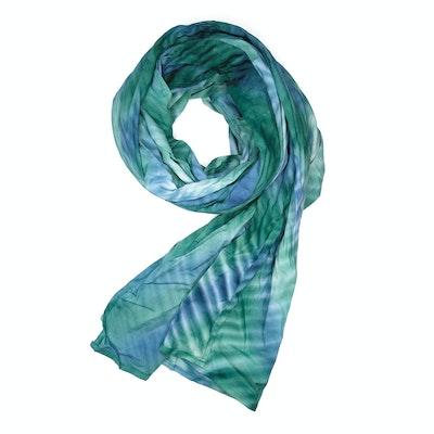 Global Sisters Shop Samorn Scarf - Blue & Green