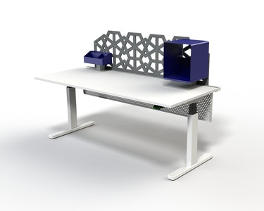 PRE ORDER - Interchange Desk (Fixed Height) - Gold Spec
