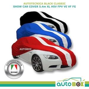 Autotecnica XL Black Show Car Cover Indoor Dust HSV FPV VE VF FG fits 5.4m