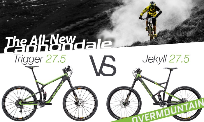 """Die neuen Cannondale 27.5"""" Mountainbikes"""